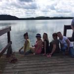 Jezioro Wukśniki 22.06.2016